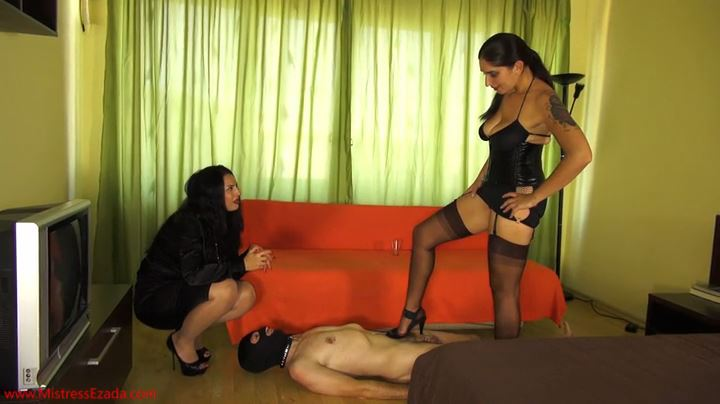 Mistress Ezada In Scene: Stupid slave humiliation - MISTRESS EZADA SINN - SD/404p/MP4