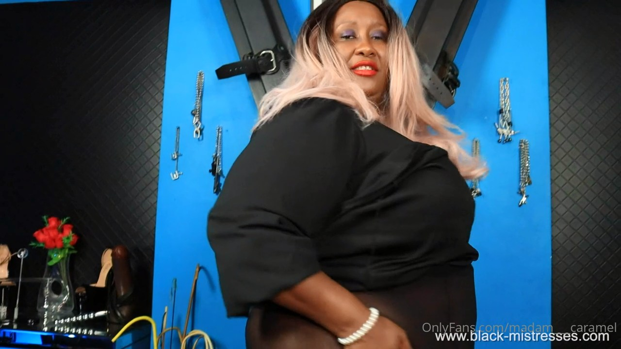 Behold Your Goddess, I'm Giving You A Chance To Learn About Me And Learn How To Worship Me - MADAME CARAMEL - HD/720p/MP4