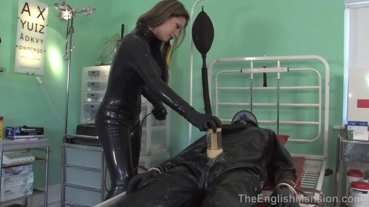 Extreme Rubber Milking - THE ENGLISH MANSION - HD/720p/MP4