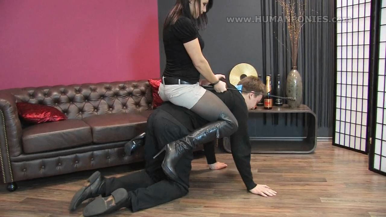 Angelina M In Scene: A pony for Angelina - HUMANPONIES - HD/720p/MP4