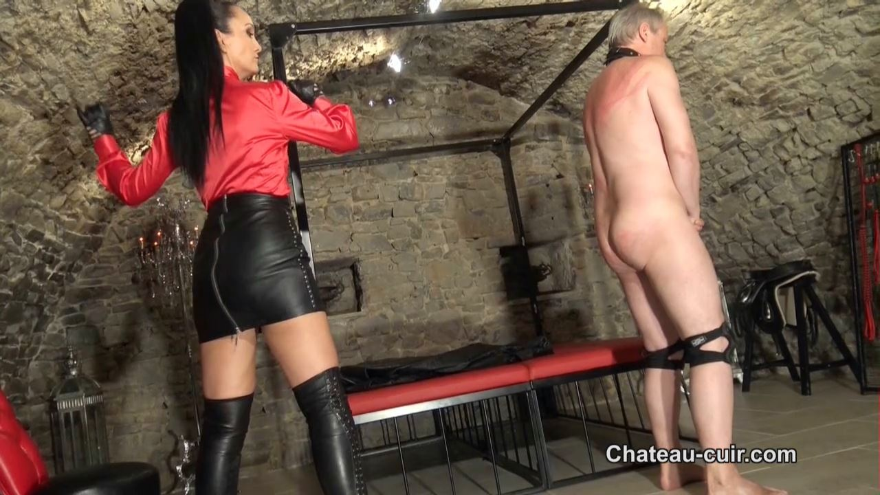 The price of leather worship part 2 - CHATEAU-CUIR - HD/720p/MP4