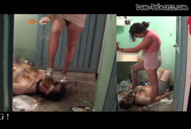 Toilet Issues, could not be worse Part 6 Chantal - DOM-PRINCESS - SD/432p/WMV