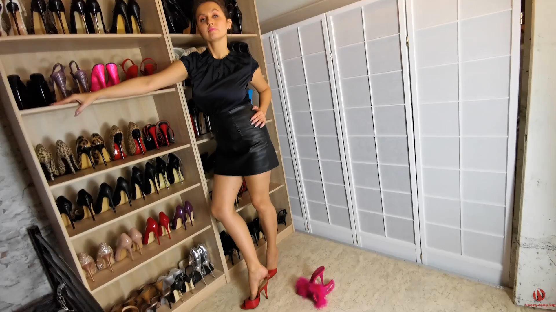 Fetish Model Lena In Scene: My Shoe Collection - SEXY LENA VIP - FULL HD/1080p/MP4