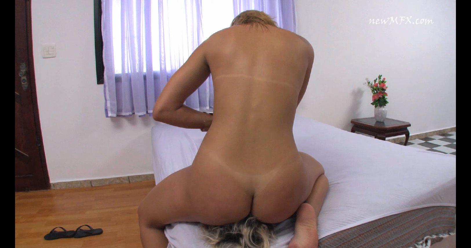 Cindy Blueberry, Tati In Scene: First Cindy's Cruel Facesitting Fuck Face - FACESITTING IN BRAZIL / NEW MFX - FULL HD/1080p/MP4