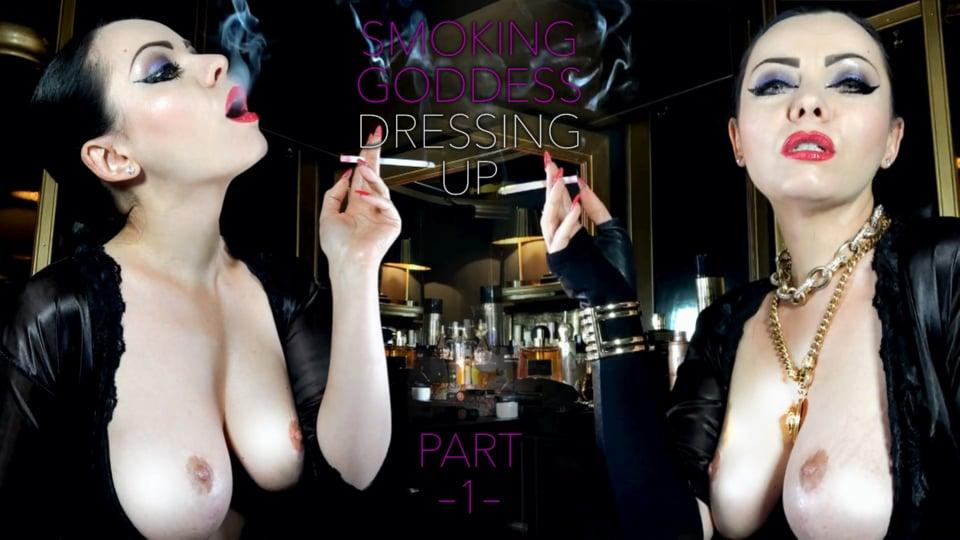 Smoking Goddess Dressing Up Part 1 - ANOUSCHKA FEMME FATALE - FULL HD/1080p/MP4