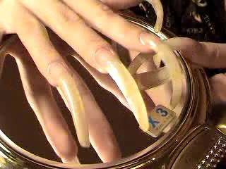 Mistress Elena In Scene: CellPhone and Little wirrow with longest nails - AHOTHARD - LQ/240p/MP4