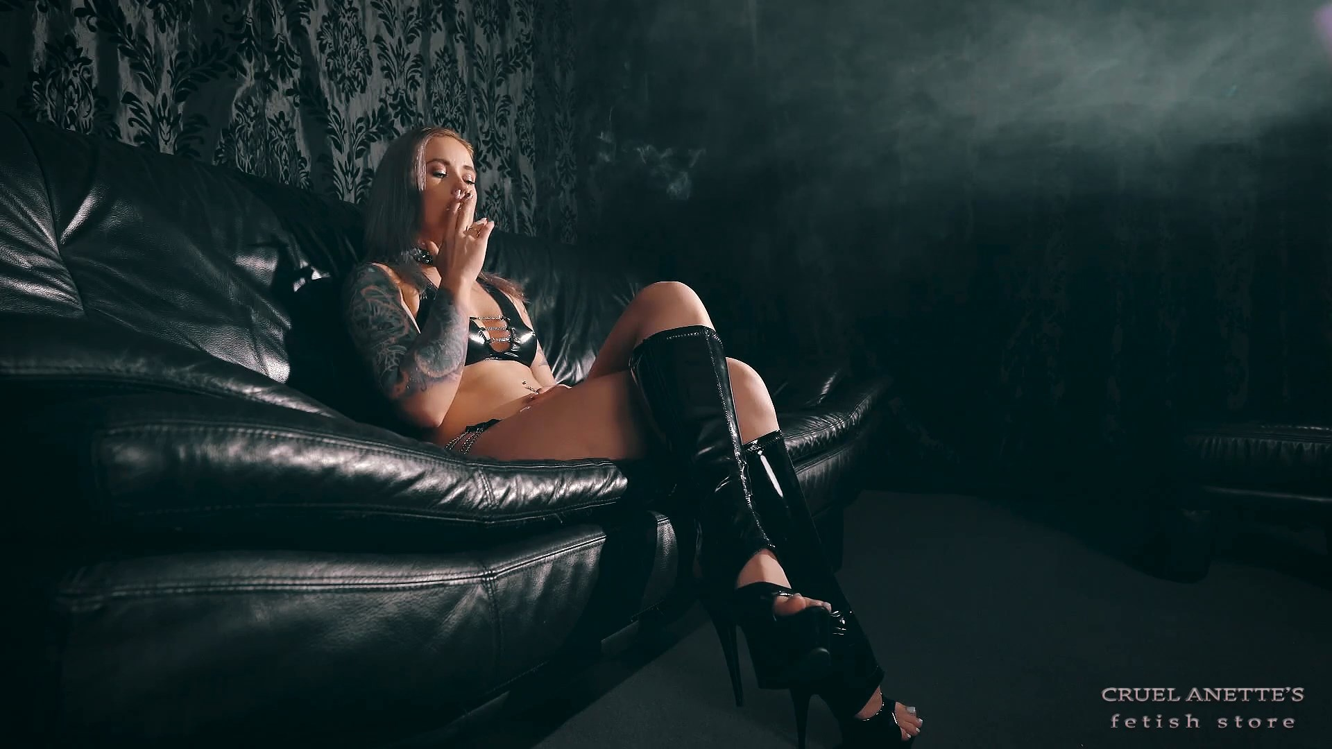 In the black room - CRUEL ANETTES FETISH STORE - FULL HD/1080p/MP4