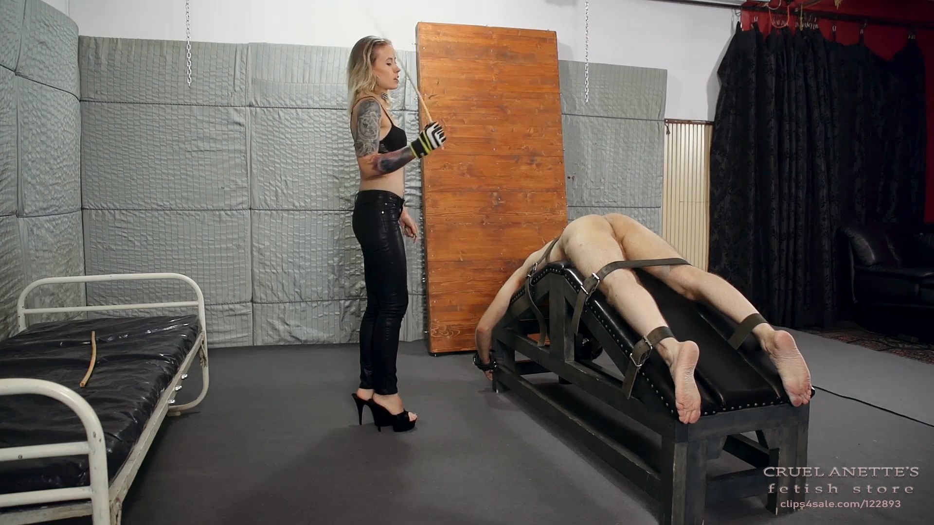 Caning compilation 1 - CRUEL ANETTES FETISH STORE - FULL HD/1080p/MP4
