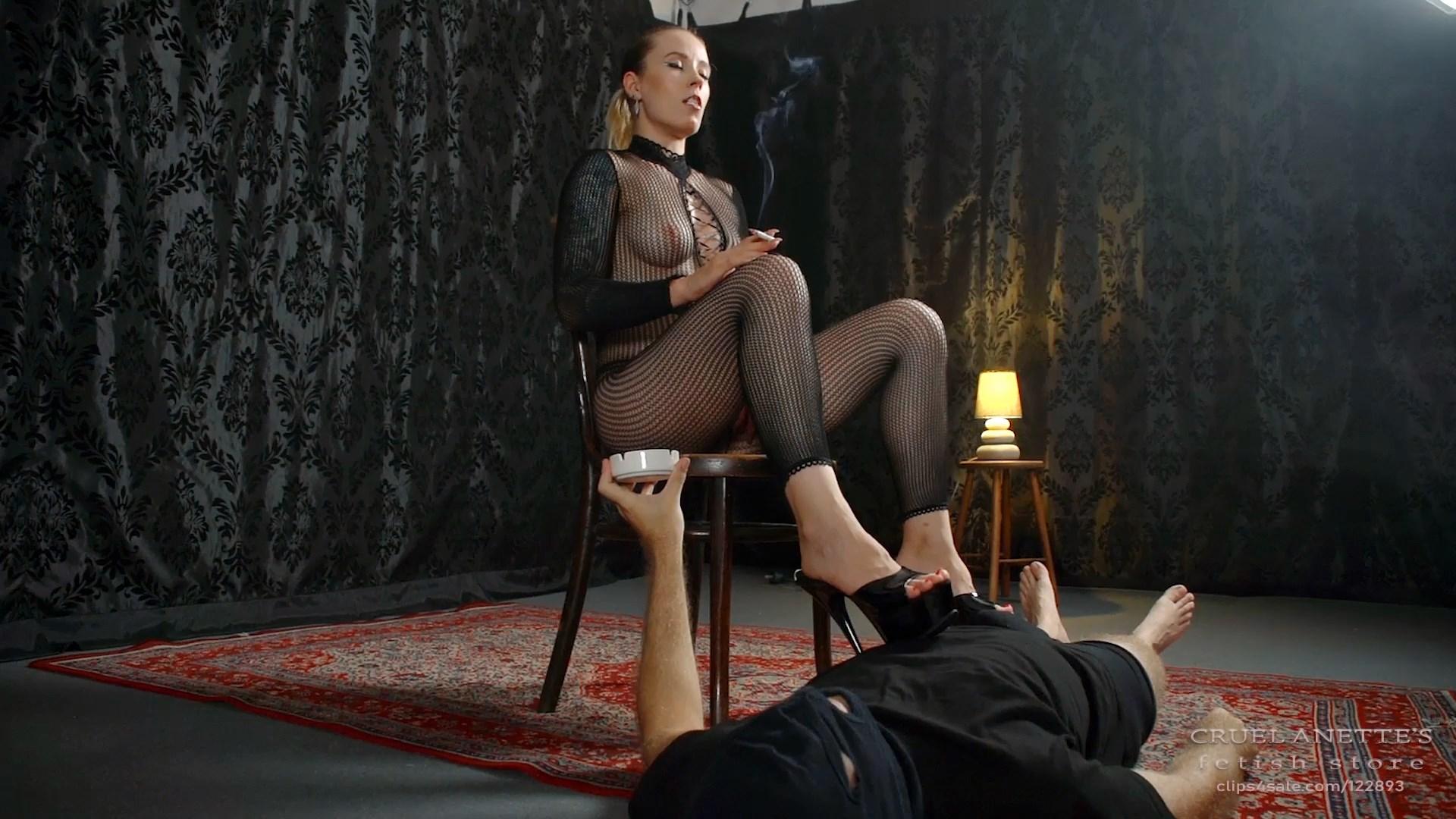 The ignored slave - CRUEL ANETTES FETISH STORE - FULL HD/1080p/MP4