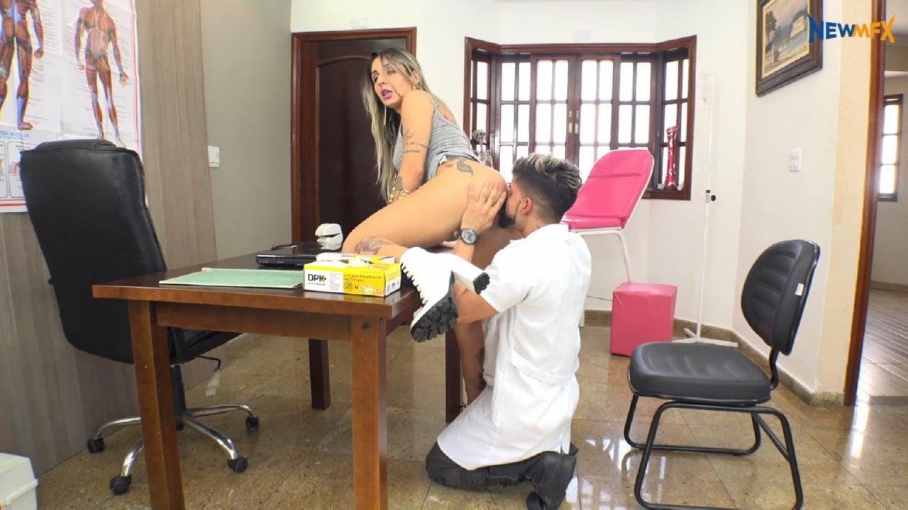 Byanca Tavares, Hisak In Scene: Doctor's Exam - ASSLICKING IN BRAZIL / NEW MFX - FULL HD/1080p/MP4