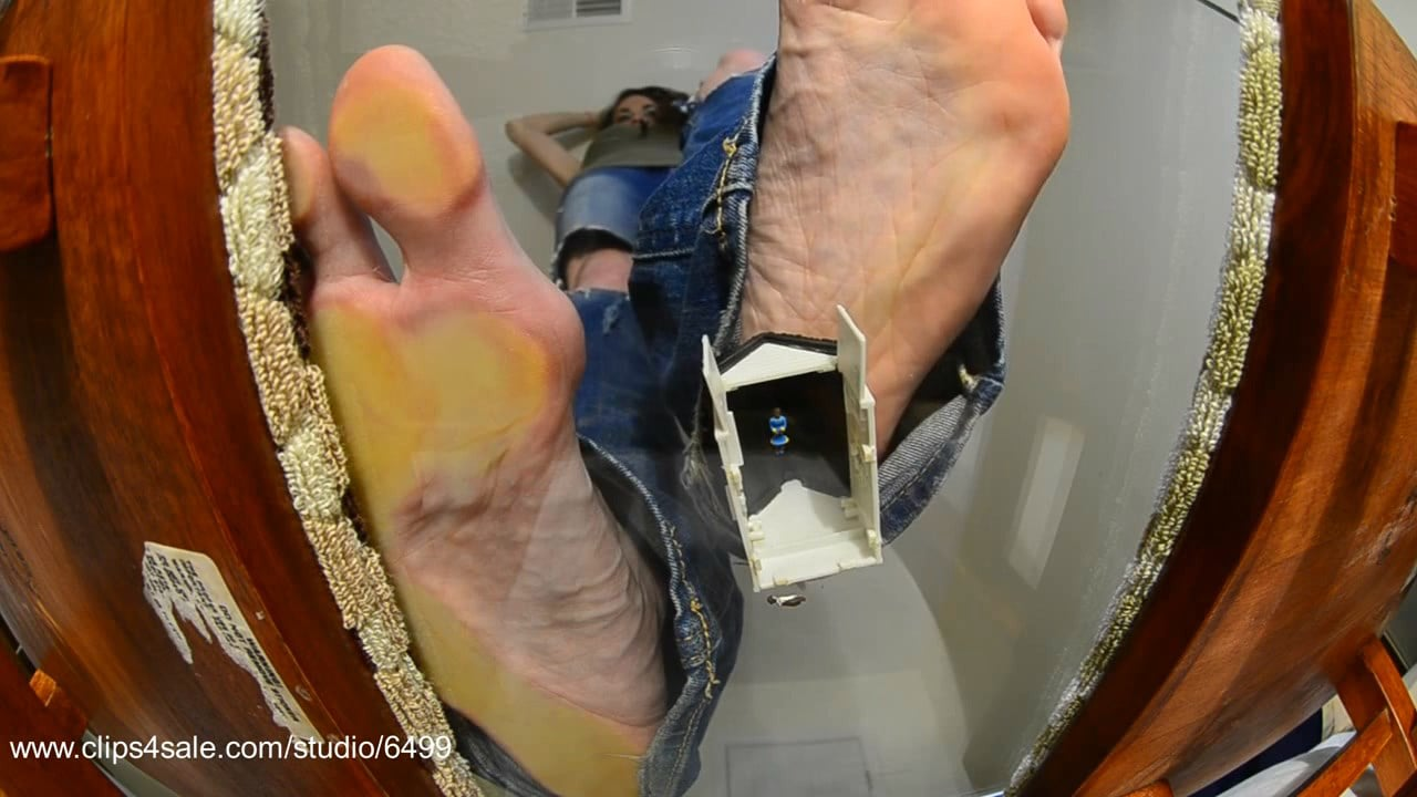 GIANT TAL in charge of DEMOLISHING Couple's home - GIANTESS FETISH VIDS - HD/720p/MP4