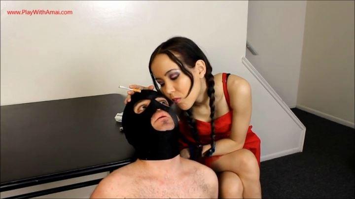 Princess Amai Liu In Scene: Disgusting Self Cleaning Human Ashtray - PLAY WITH AMAI / ILOVEAMAI - SD/404p/MP4