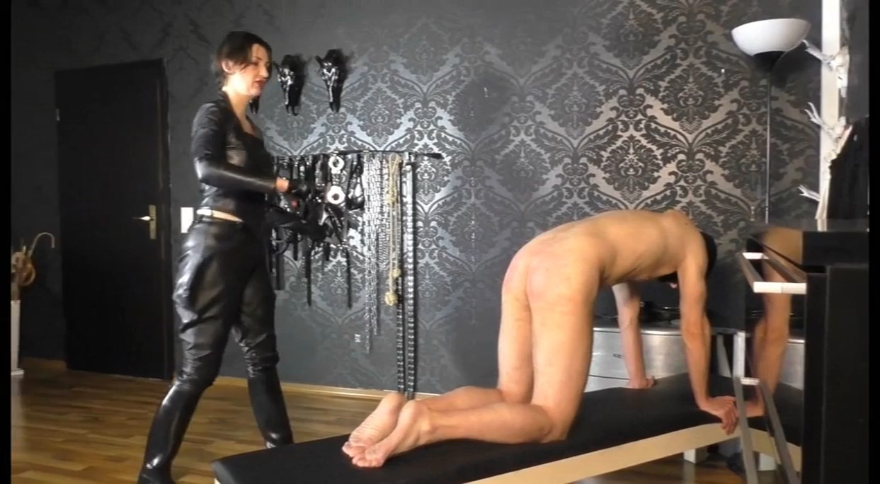 Classical Education Of The Leather Mistress Lady Victoria Valente Part 1 - LADY VICTORIA VALENTE - SD/684p/MP4