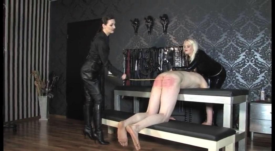 Hard Lesson For Our Untrusting Slave - Spanking With Divine Mistress Heather Full Clip - LADY VICTORIA VALENTE - SD/576p/MP4