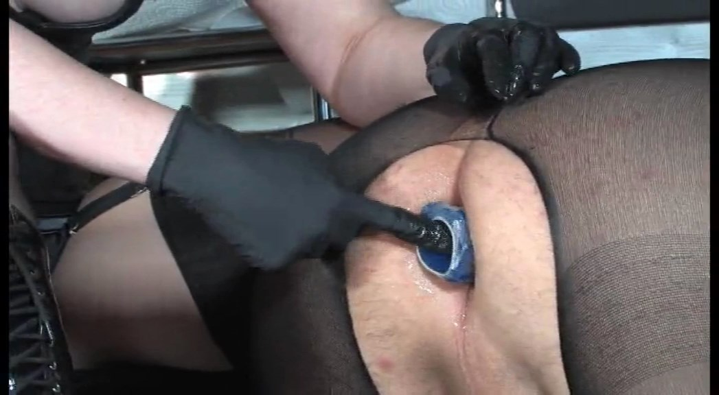 Anal Game With The Slave Pig! I Fuck My Dido In Your Ass - LADY VICTORIA VALENTE - SD/576p/MP4
