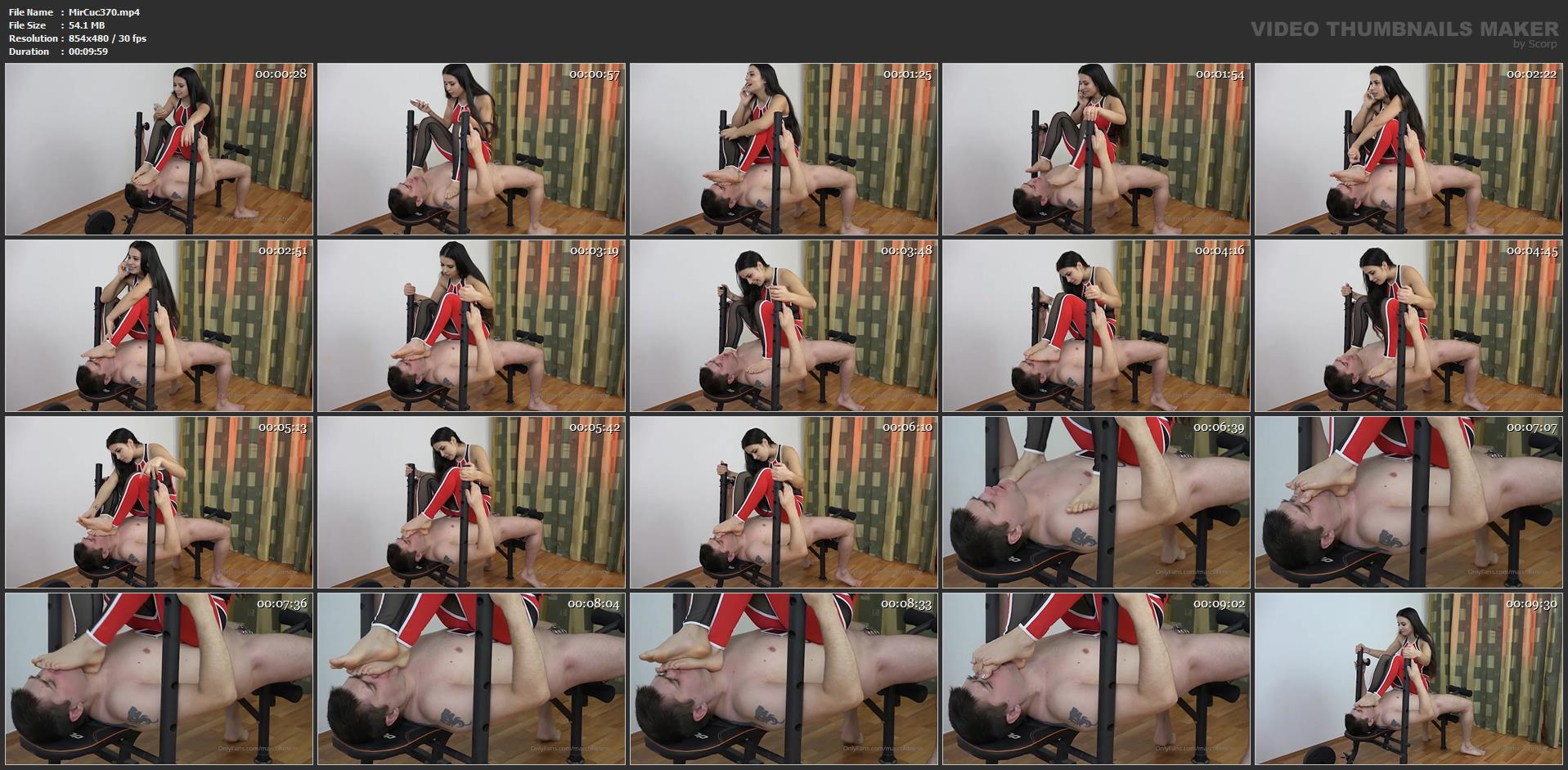 Ninel Mojado In Scene: I Show You Where Is Your Place! Chastity Cuckold Humilation! Part 2 - MIRA CUCKOLD / MAGYAR MISTRESS MIRA - SD/480p/MP4