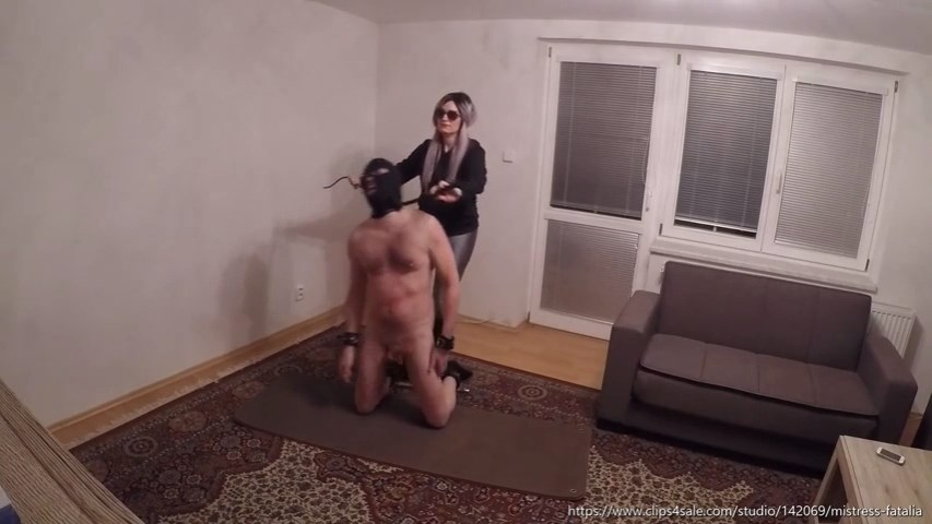 Whipped And Kicked Submissive - MISTRESS FATALIA - SD/480p/MP4