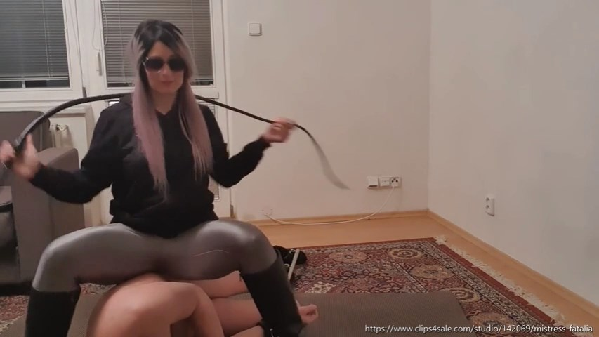 Restrained Whipped And Kicked - MISTRESS FATALIA - SD/480p/MP4