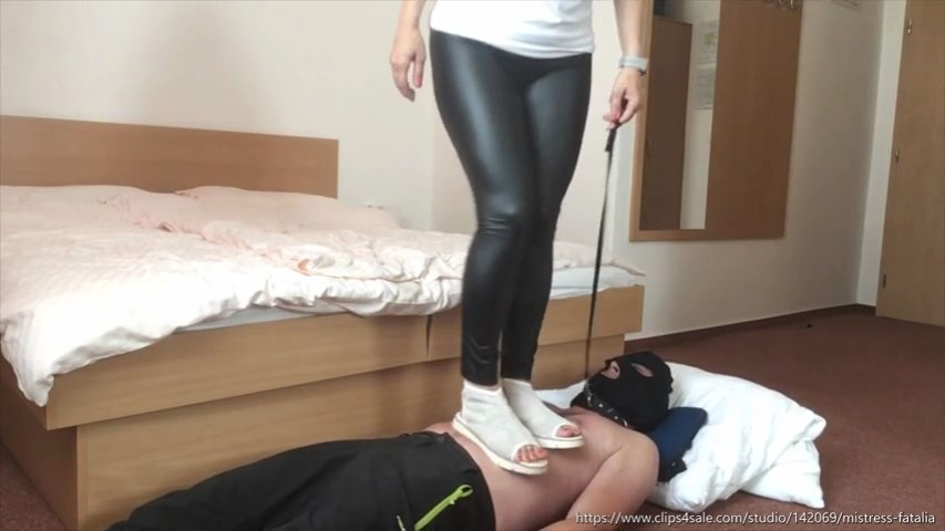 Running On His Stomach - MISTRESS FATALIA - SD/480p/MP4