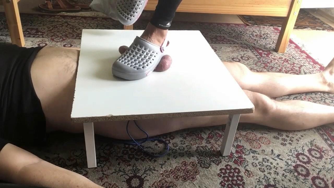 Crocs Jump On Cock And Balls - MISTRESS FATALIA - HD/720p/MP4