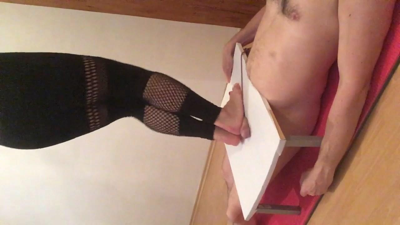 Mistress Fatalia Fishnet Barefoot Cockboard Kicking Stomping On Slave And His Balls - MISTRESS FATALIA - HD/720p/MP4